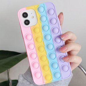 NEW iPhone 12/Pro/Max Bubble Decompression case